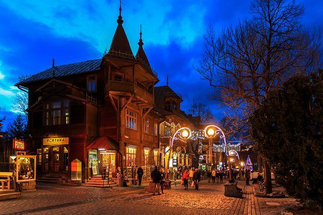 Zakopane, Krupówki / Krupowki - main street of Zakopane, Poland | Flickr - Photo Sharing!