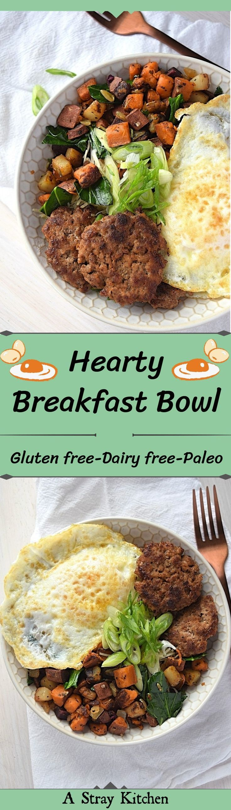 Photo of Hearty Breakfast Bowl – A Stray Kitchen – Recipes – Breakfast