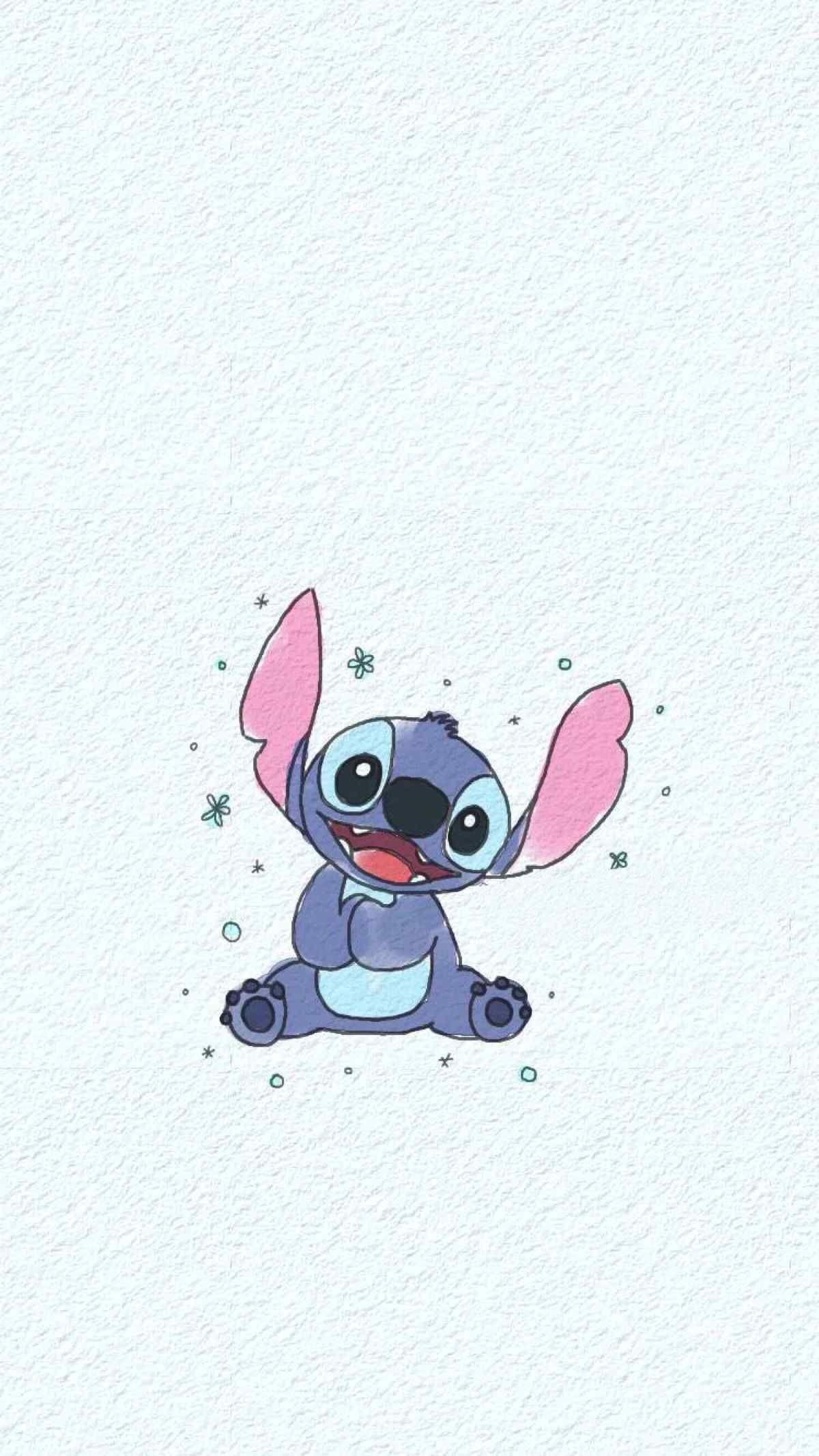 Stitch Disney Iphone Wallpaper Wallpaper Achtergronden
