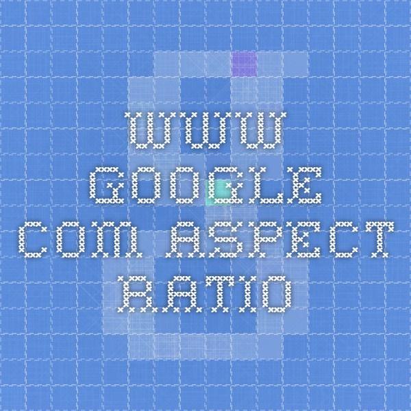 www.google.com Aspect Ratio