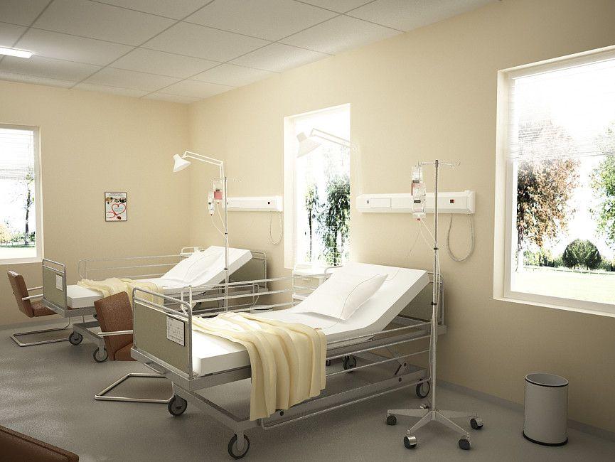 3d hospital room model dovera pinterest d models and 3d