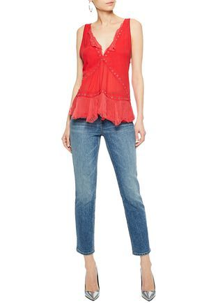 IRO Clothing | Sale up to 70% off | US | THE OUTNET | Paris | Pinterest |  Jeans jumpsuit, Jacket jeans and Leather pants