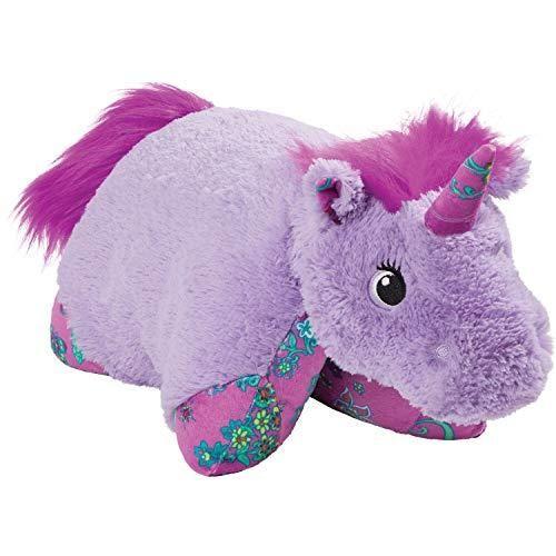 Pillow Pets Colorful Lavender Unicorn, 18 Stuffed Animal Plush Toy