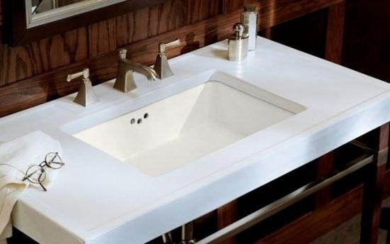 Kohler K 2297 0 Kathryn Undermount Bathroom Sink Contemporary