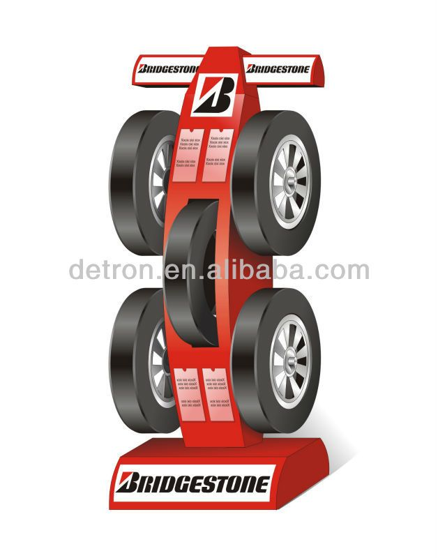 Tire display stand/Tire rack/Custom design rack | alibaba ...