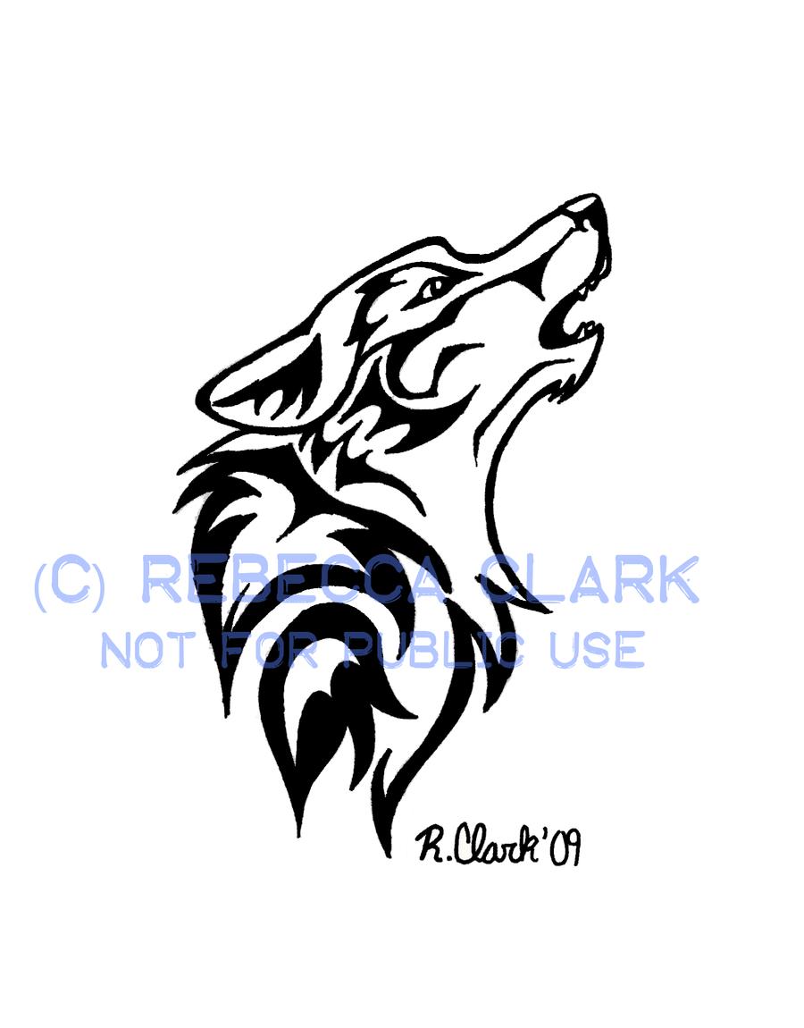 Howling Wolf Tattoo By Insaneroman On Deviantart Howling Wolf Tattoo Tribal Wolf Tattoo Wolf Dreamcatcher Tattoo
