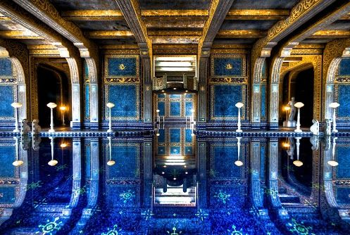 The roman pool at hearst castle eats and drinks for Piscina san vicente de paul