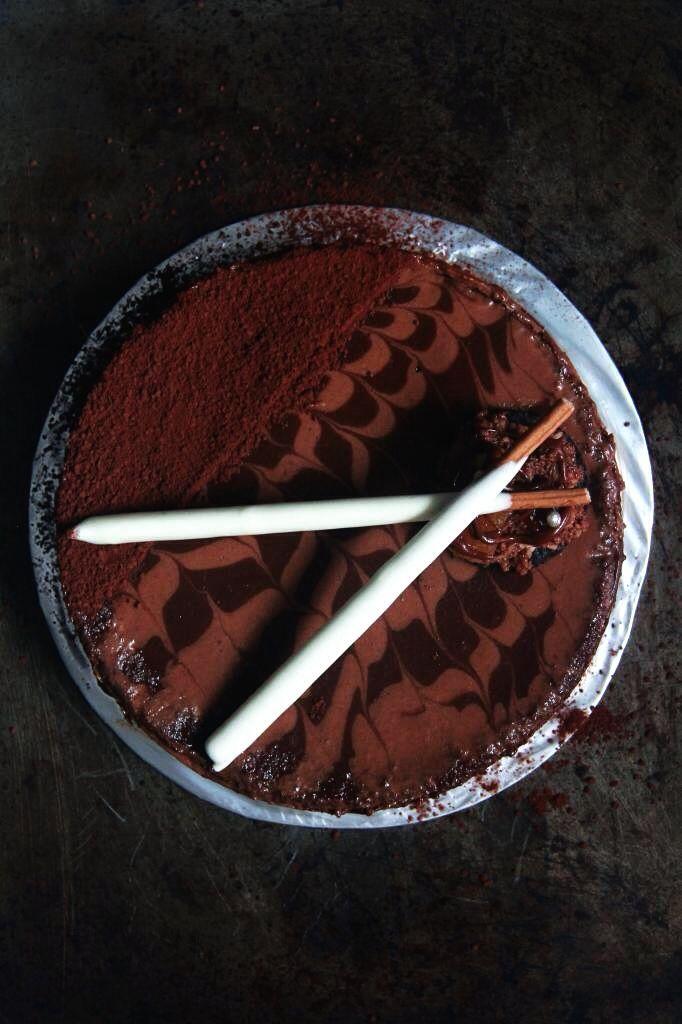 Chocolate Earl Gray Cake