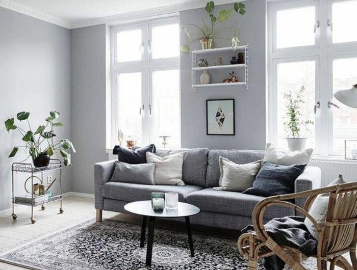 Déco salon gris - 88 super idées pleines de charme Salons