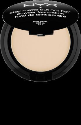 Für ein absolutes trendiges Matt-Finish: Die NYX Make-Up Stay Matte But Not Flat…