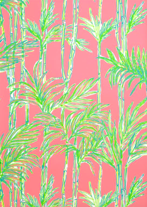 Wallpaper Wednesday Lilly Pulitzer for Lee Jofa