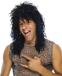 Black U Rock Wig – Costume Wigs « Mutant Faces