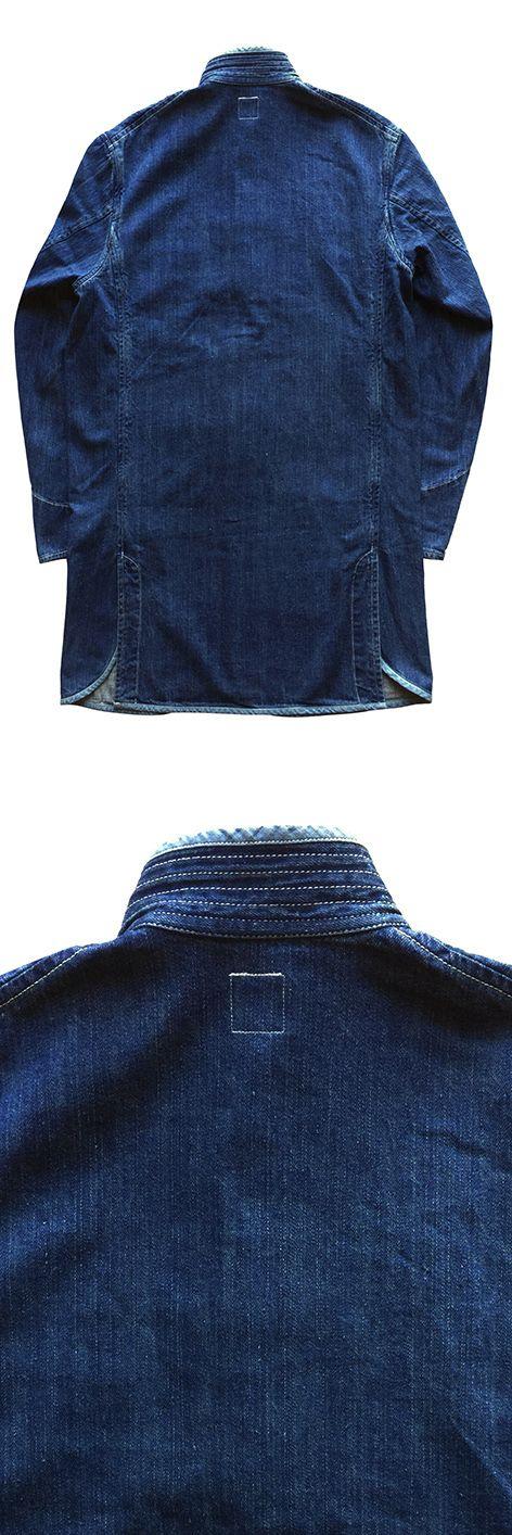 porter classic summer denim chinese coat kanazawa limited edition サマー デニムチャイナコート インディゴブルー pc 金沢 限定 流行に左右されない定番素材 サマーデ ポータークラシック チャイナ ジャケット クラシック