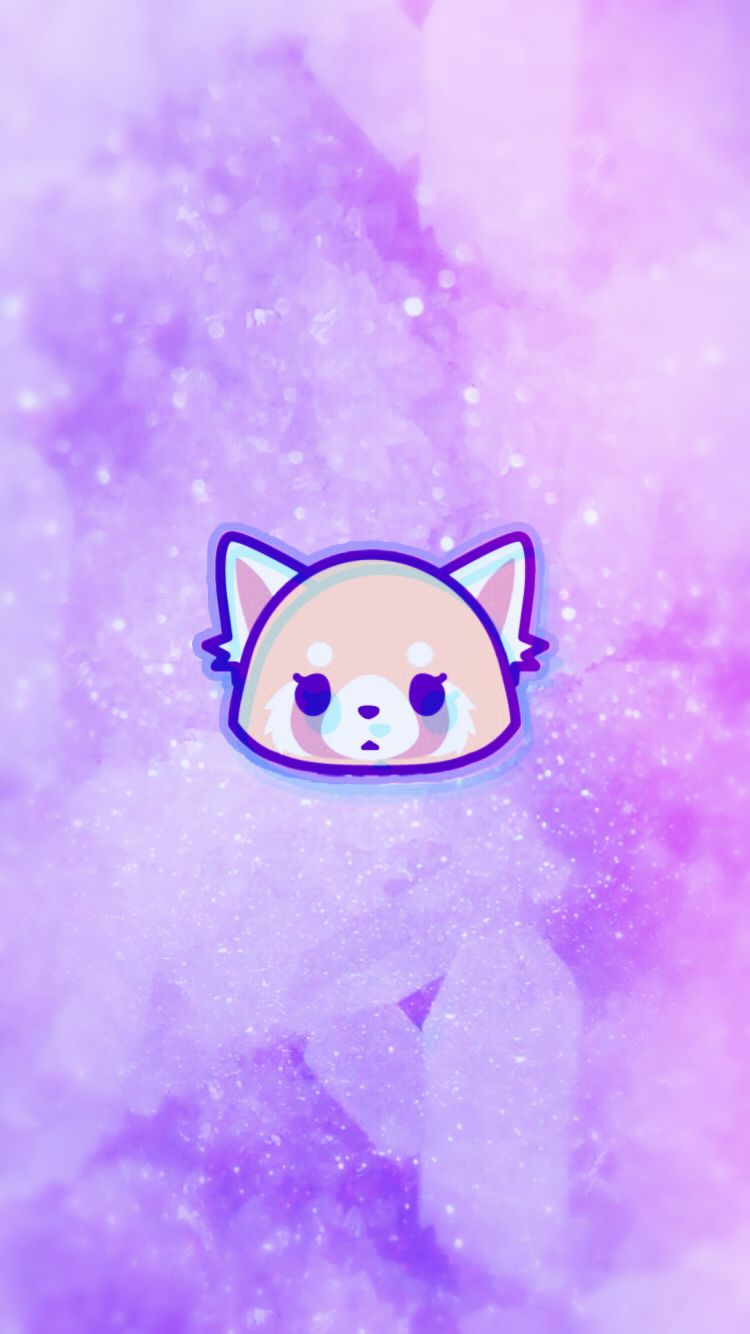 Aggretsuko Wallpaper for iPhone Cute anime wallpaper