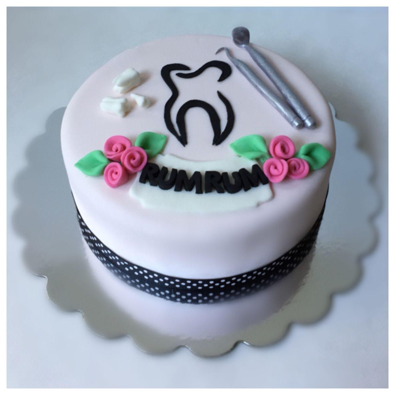 Dentist Birthday Cake
