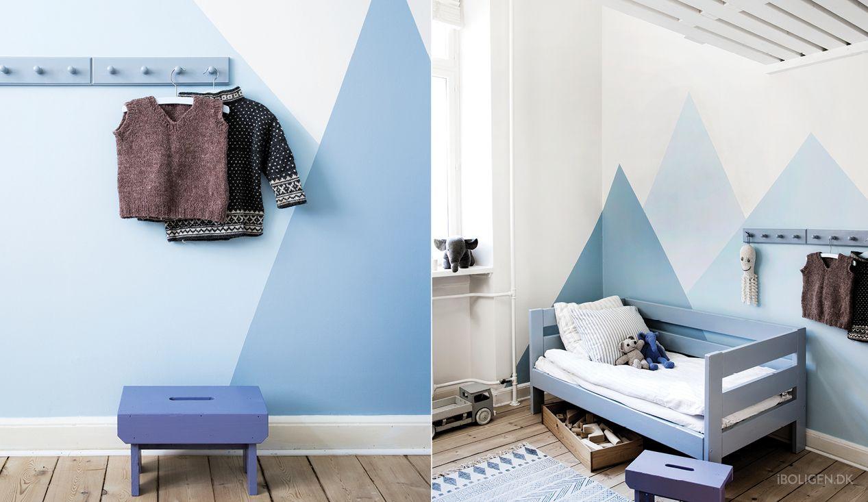 Farvetemaet Ro byder på lyseblå nuancer og andre pasteller. Her er mindfulness og indre balance i fokus.