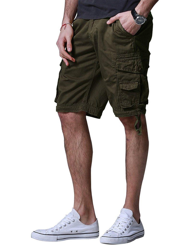 Match Men's Twill Comfort Cargo Short Without Belt S3612