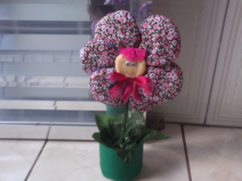 Peso de porta flor dupla face