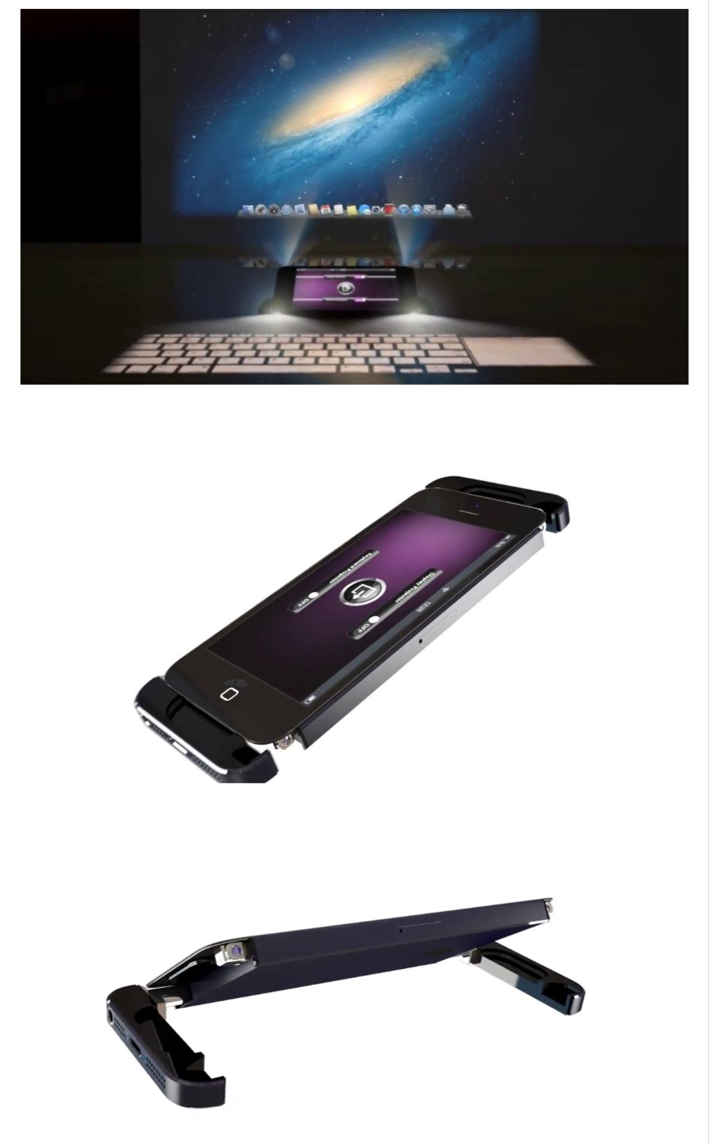 Epic iPhone 5S Concept Features Dual Built-In Projectors