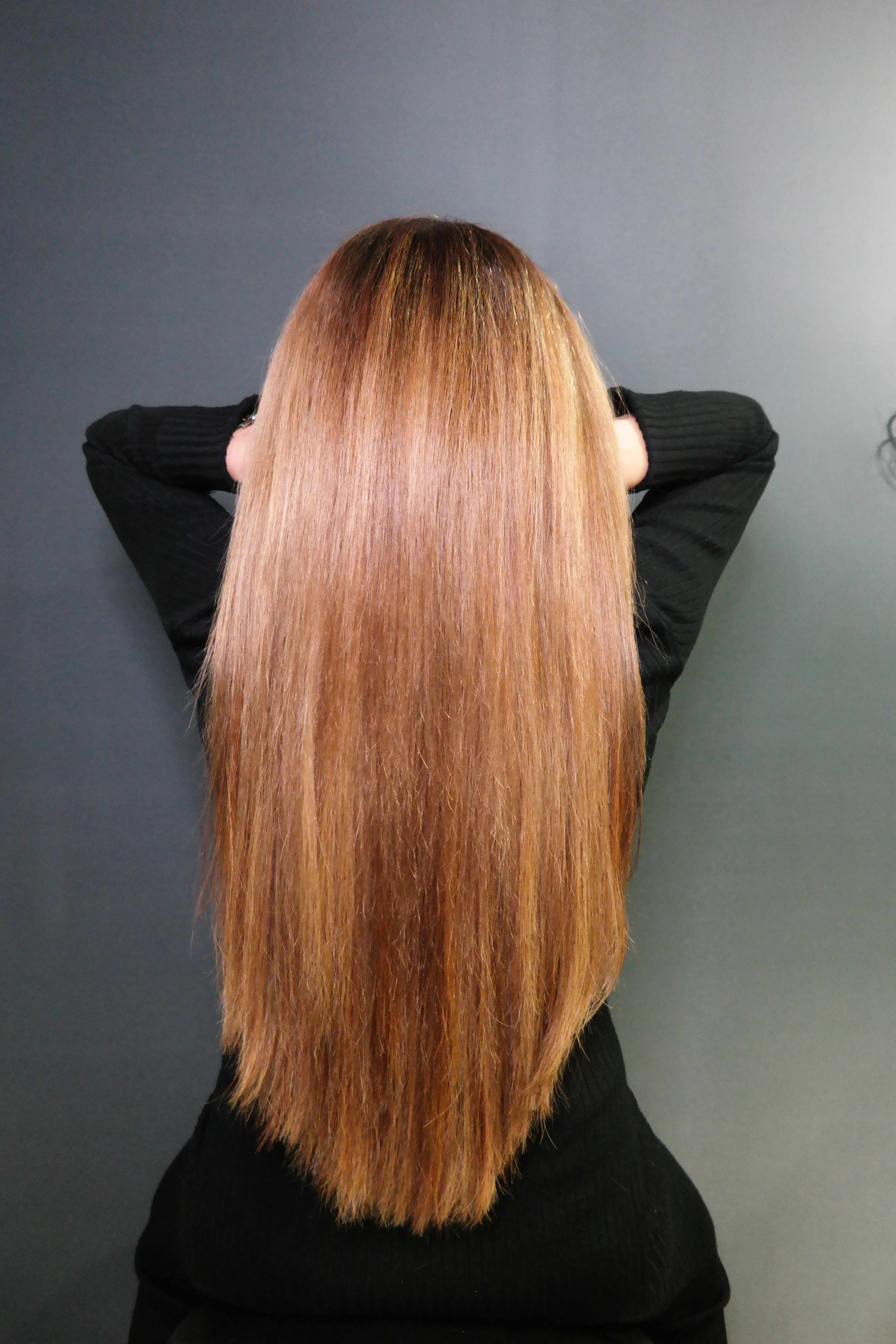 Great lengths extensions 125pc long natural hair