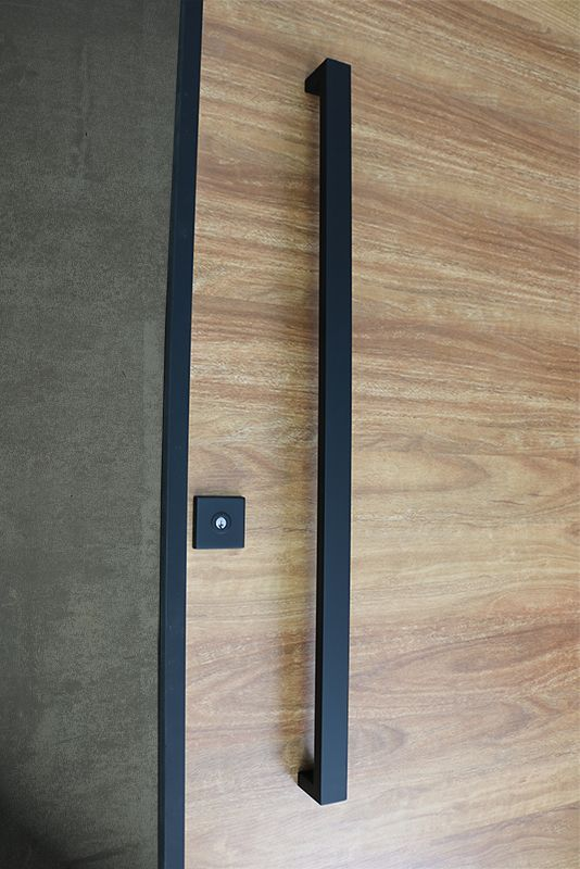 front door handle. Matte Black Entry Pull Set - Long Is A Complete Of Door Hardware (hinges Not Icluded) For Contemporary Doors Such As Pivot Doors. Front Handle S