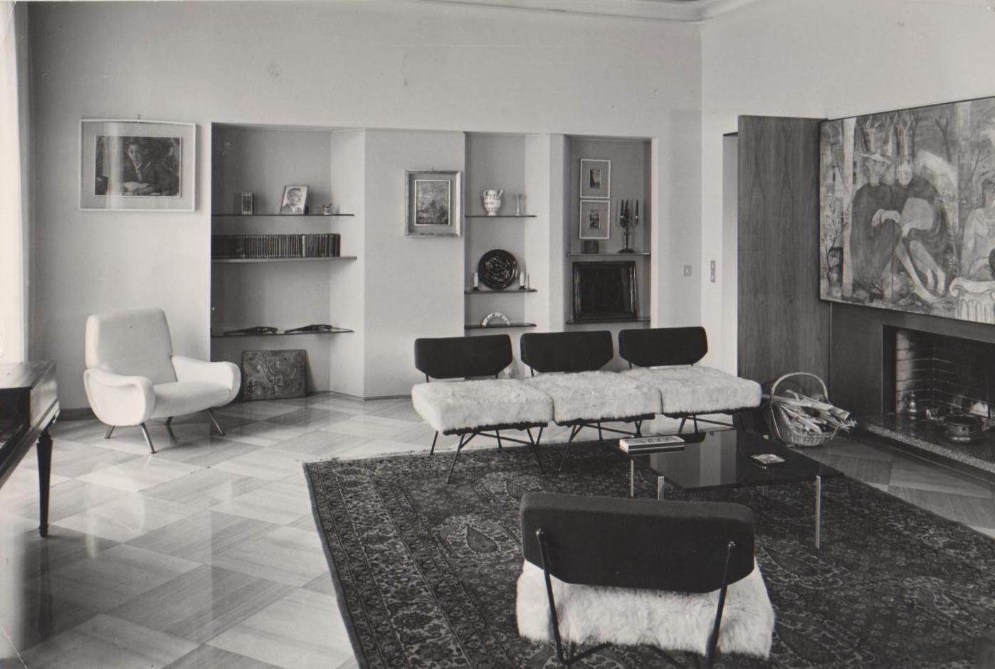 Arflex museum elettra armchair design b b p r 1952 for Sharon goldreich