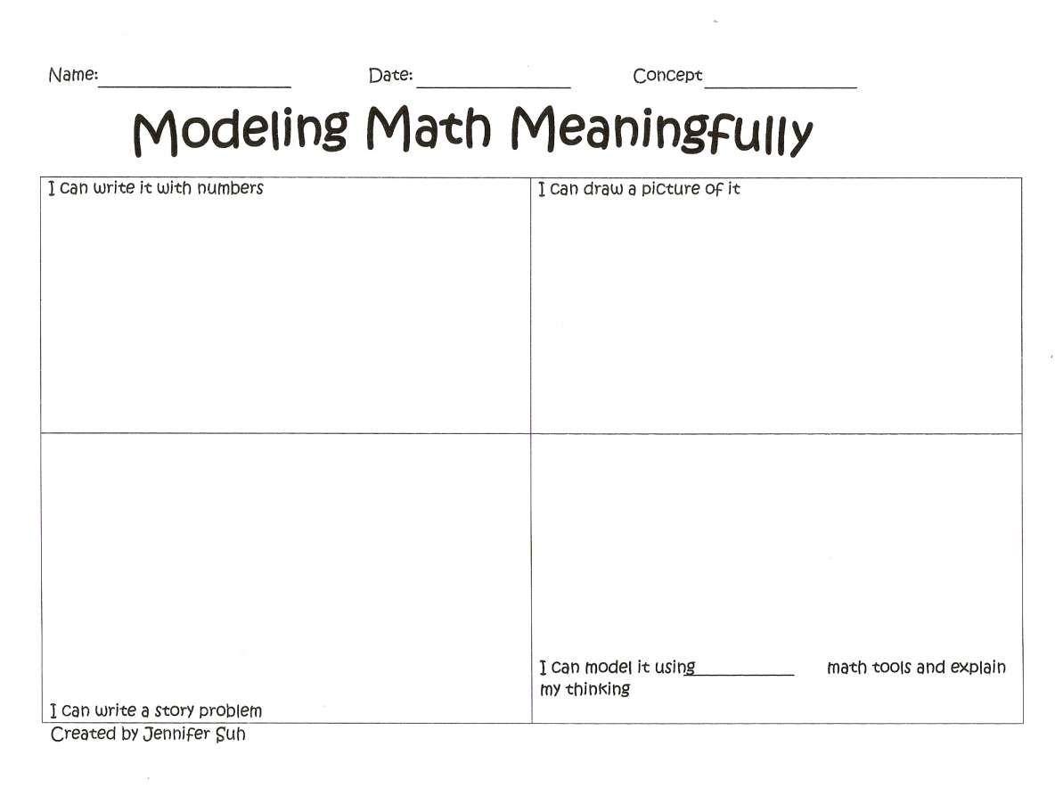 10 Math Curse Printable Worksheet In