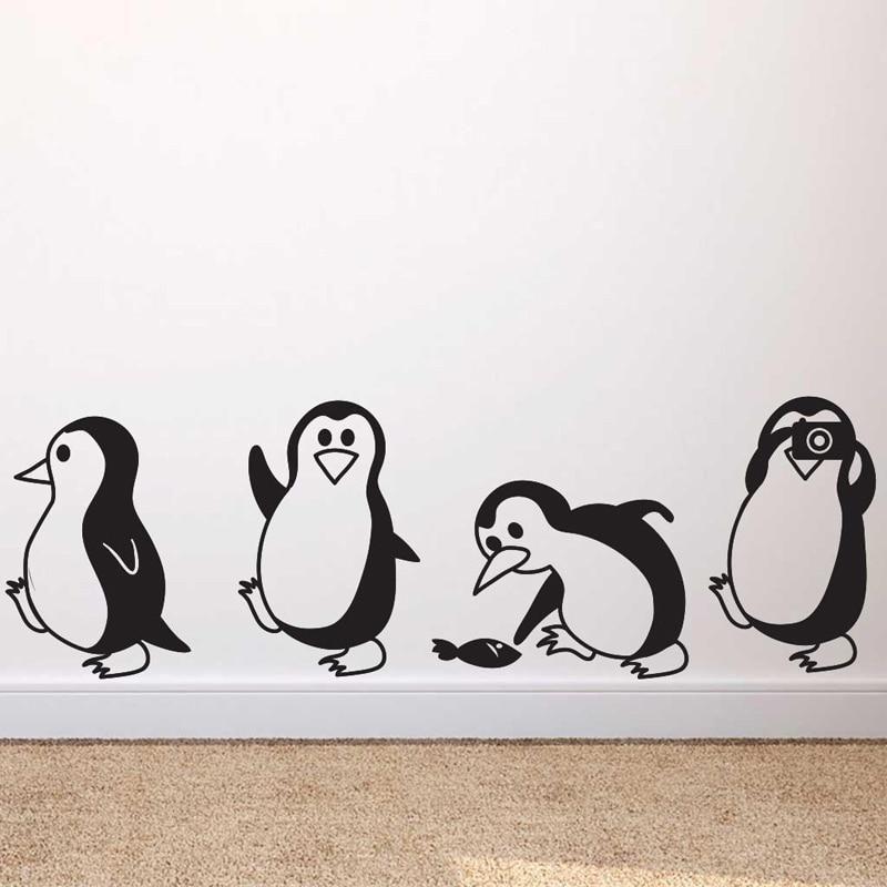 Cute Little Penguin Wall Decals