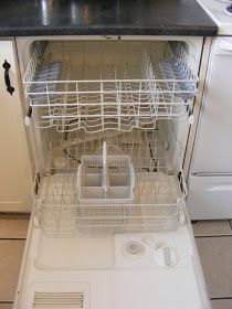 The Complete Guide to Imperfect Homemaking: How To Clean Your Dishwasher (without gagging too much)
