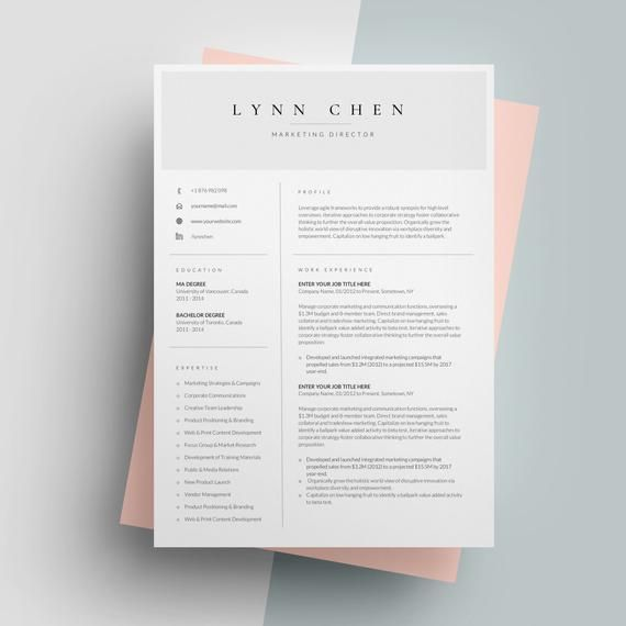 one page resume template for word  simple resume templates