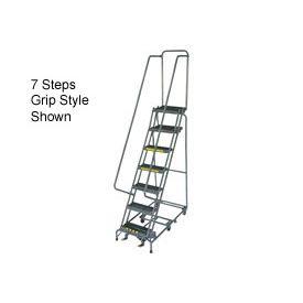 10 Step 24 W Grip All Directional Steel Ladder Ladder Rolling Ladder Steel