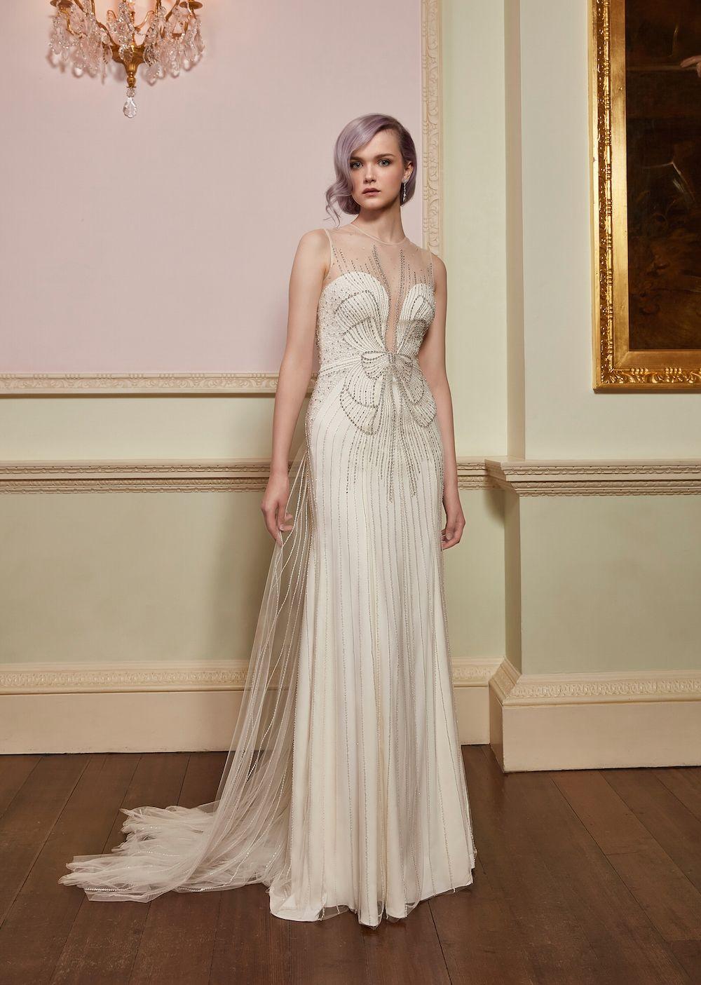Jenny Packham Kollektion 2018 ~ Brautkleider mit Hollywood-Glam ...