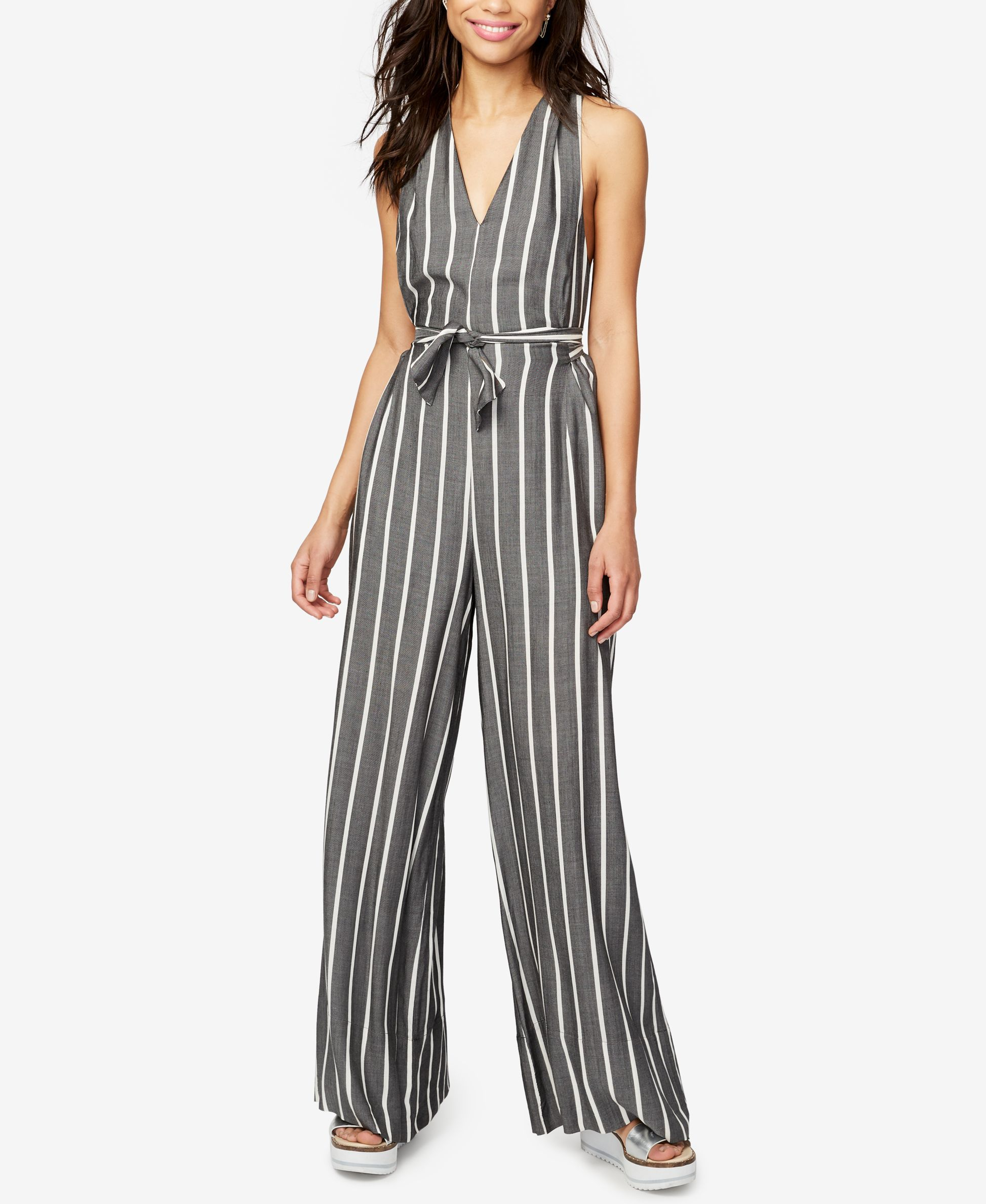 8b07313466fb Rachel Rachel Roy Striped Jumpsuit