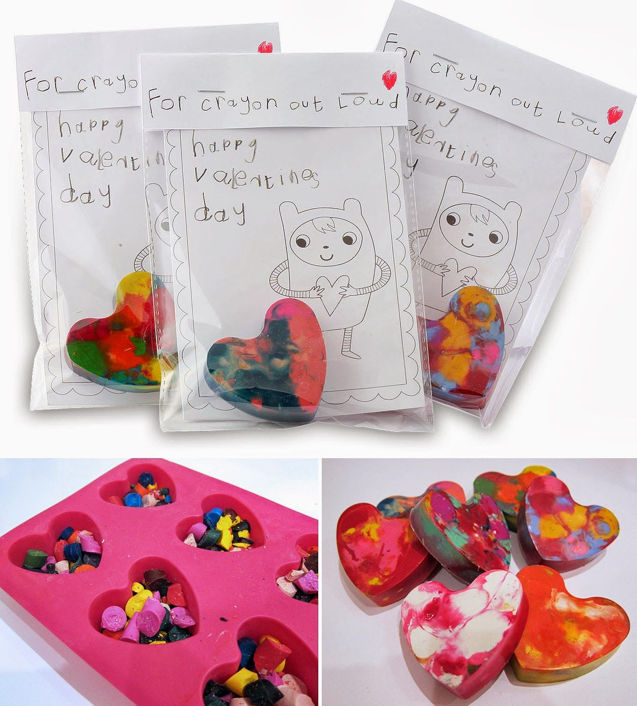 For Crayon Out Loud from Molly Moo - candy alternatives for Valentine's Day