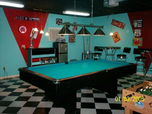 Garage Goes Gameroom Room Setup Game Room Man Cave