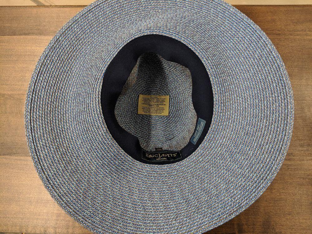 bd89dc8c8 Eric Javits Hampton' Straw Sun Hat One size fits all Blue #fashion ...
