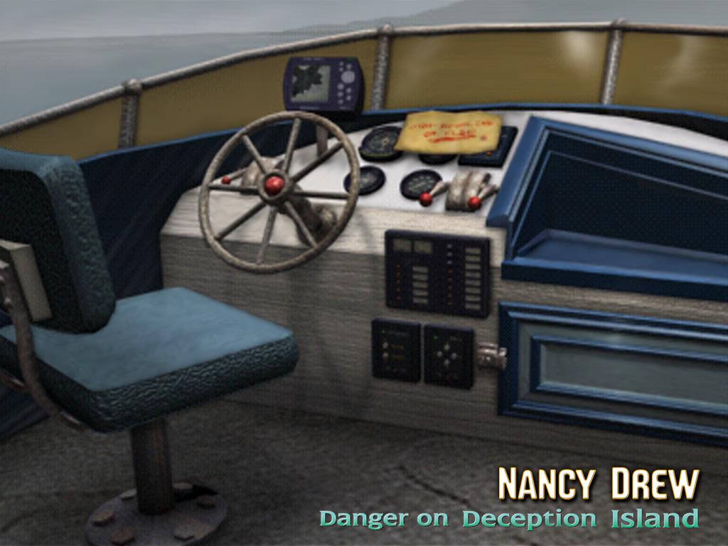Steering Wheel from Nancy Drew: Danger on Deception Island