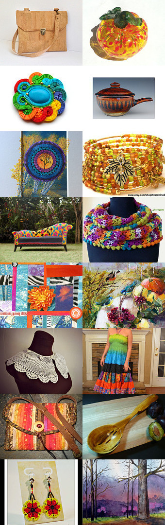 Wonderful Autumn Colors by Mickey Davidson on Etsy