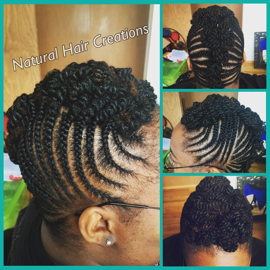 #cornrows and #twists #updo #protectivestyle #naturalhair #naturalhairstylist #bayarea #oakland #sanfrancisco #elcerrito #braids