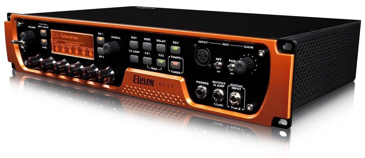 Avid Eleven Rack Digital Recording Interface Guitar rack