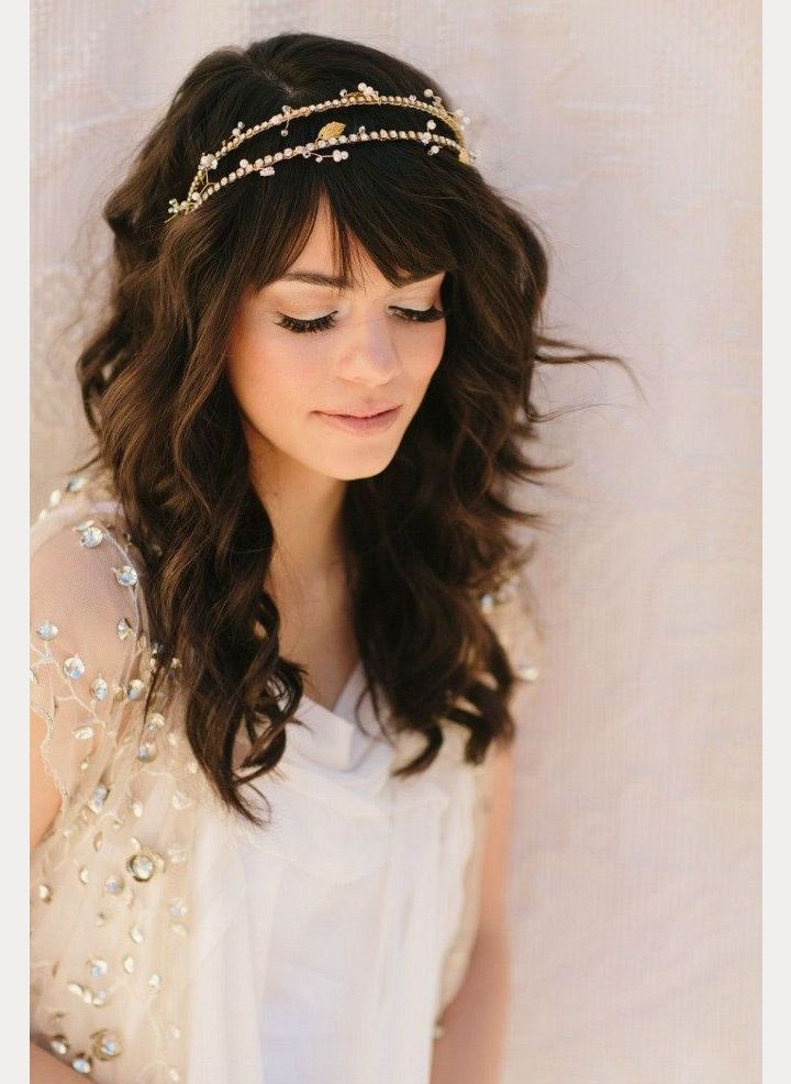6a9f6c4ece3 bride with bangs ~ we ❤ this! moncheribridals.com