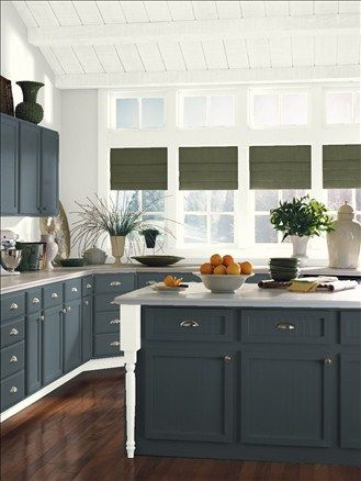 Benjamin Moore Stonecutter 2135 20 Kitchen Island Color