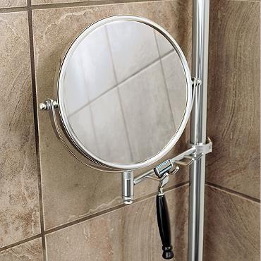 Reversible Mirror with Razor Hooks Accessory | Showers | Pinterest ...