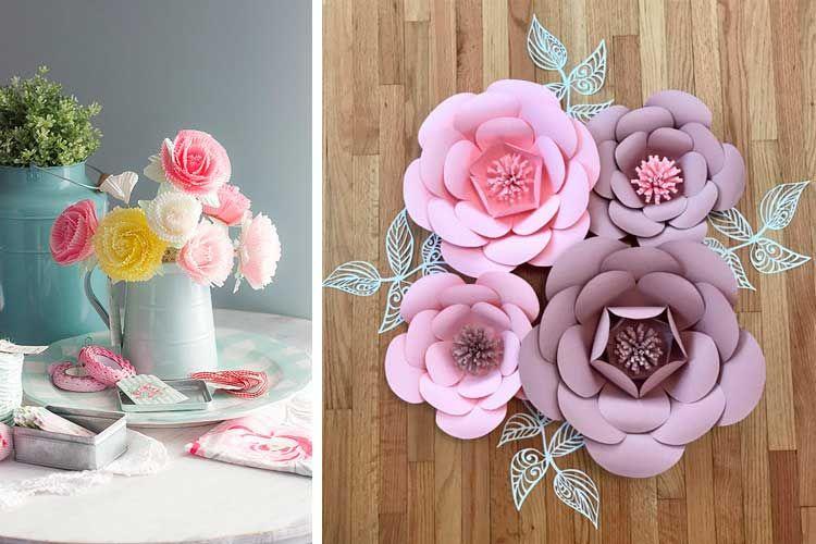 Ideas para decorar con flores artificiales flores Pinterest