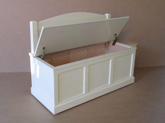 Blanco de pecho-Banco-antiguo juguete de madera-arco por weaverwood ...