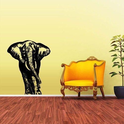 Wall Vinyl Sticker Decals Decor Art Bedroom Design Mural Baby Elephant (z1594) #3M