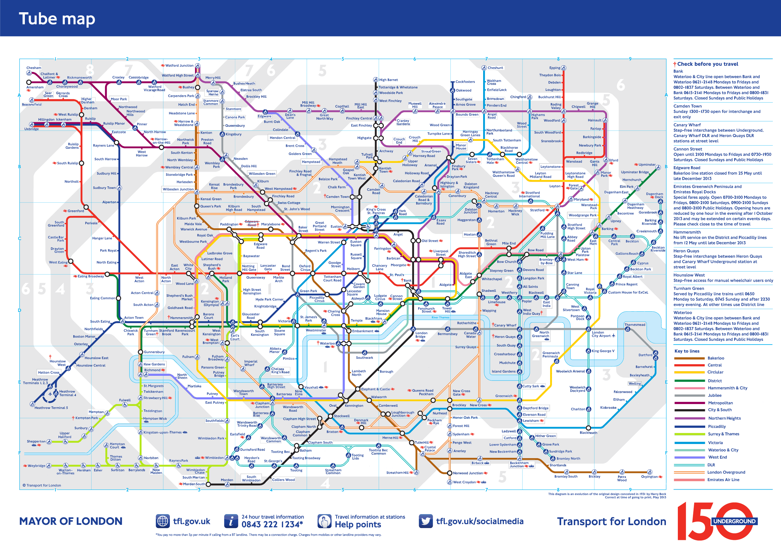 London Underground Map 2025 - Better extensions, connections and ...