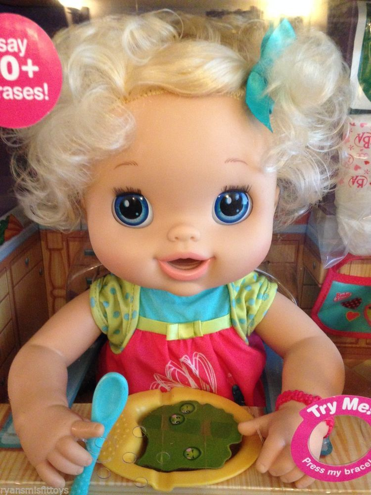 Baby Alive MY BABY ALIVE ~ Interactive Doll SHE Talks Eats Poops   Pees NEW  2010  Hasbro 5e848181f3