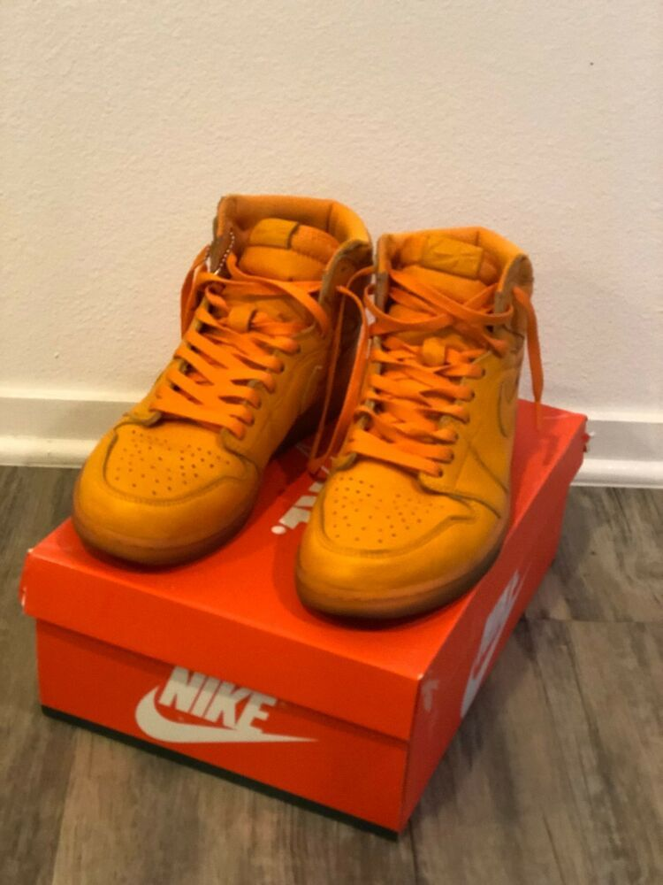 finest selection ca646 b9f71 Orange Gatorade Jordan 1's- Sneakers S (Men's 10 1/2 ...