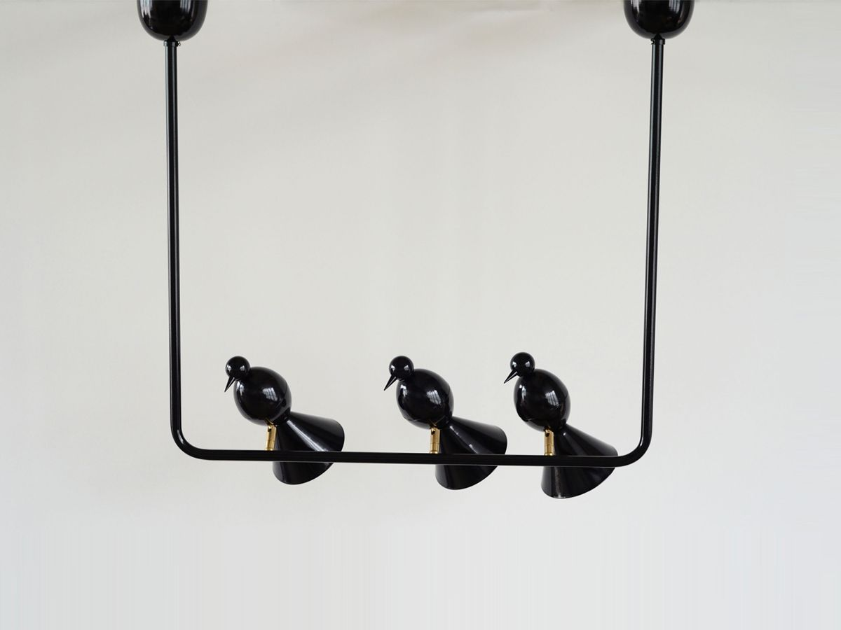 Atelier Areti Alouette Ceiling Light 3 Birds U Lighting Wiring A Fixture On Wire Chandelier Interiordesign Makesmesmile